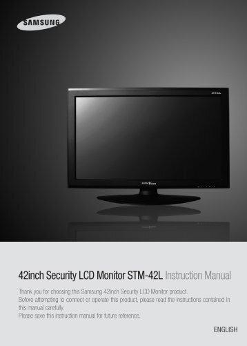 samsung security camera system manual