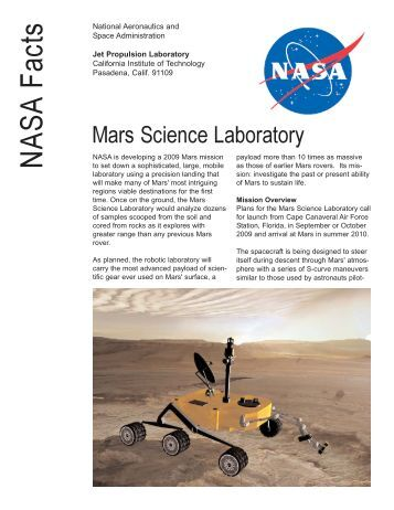 an analysis of haughton mars project by nasa Deployment of a prototype plant gfp imager at the trevormurdoch-1@nasa the arthur clarke mars greenhouse at the haughton mars project research station on.