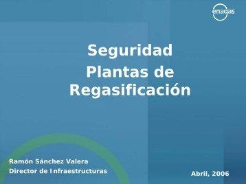 Seguridad Plantas de Regasificación - Consejo Social de la ULPGC