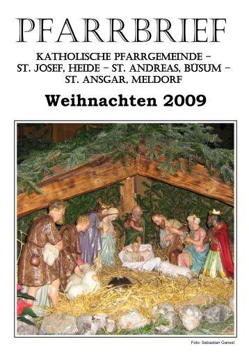 Weihnachten 2009 - Katholische Pfarrgemeinde St. Josef - Heide