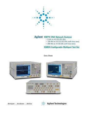 User manual e5071c