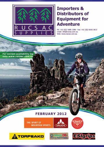 FEBRUARY 2012 - Rucsac Supplies