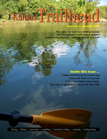 Inside this issue ... - Trails of Kansas