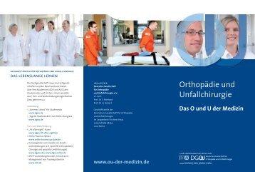 Orthopädie und Unfallchirurgie - Deutsche Gesellschaft für ...