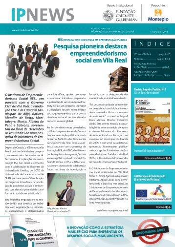 Pesquisa pioneira destaca empreendedorismo social em Vila Real