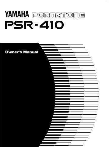 psr 450 owner 39 s manual. Black Bedroom Furniture Sets. Home Design Ideas
