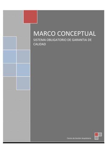 Marco conceptual del SOGC - Centro de Gestión Hospitalaria