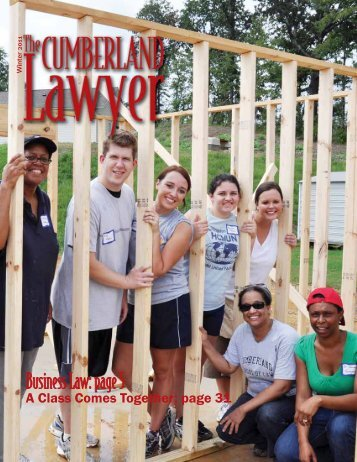 A Class Comes Together: page 31 - Lightfoot, Franklin & White, LLC