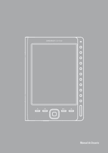 Manual de Usuario e6 rubber grey.indd - Energy Sistem