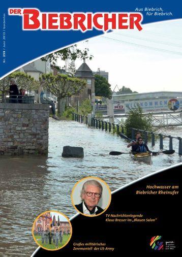 DER BIEBRICHER, Ausgabe 259, Juni 2013