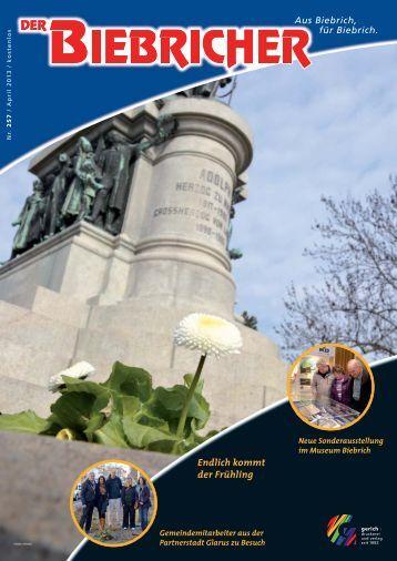DER BIEBRICHER, Ausgabe 257, April 2013