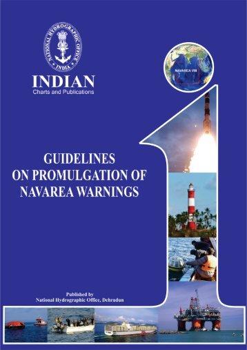 Guidelines on promulgation of NAVAREA warnings. - Indian Naval ...