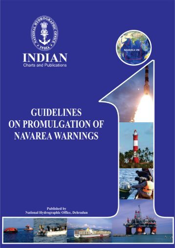 Guidelines on promulgation of NAVAREA warnings. - Indian Naval ...