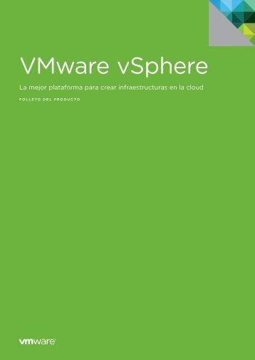 Hoja de producto vSphere 5 - Spetel