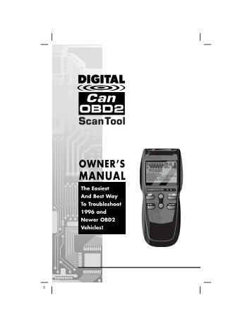 Scan Tool