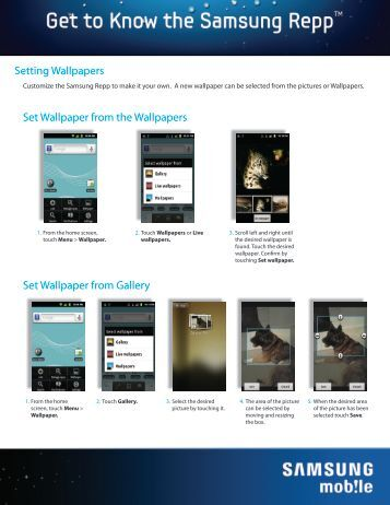 Setting Wallpapers - US Cellular