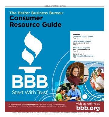 Pages 1 - Better Business Bureau