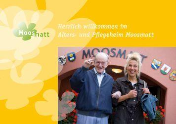 Herzlich willkommen im Alters- und Pflegeheim Moosmatt - Lauwil
