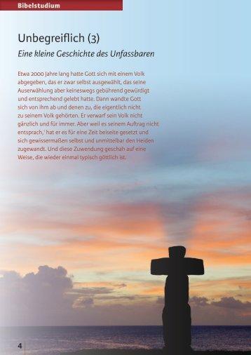 Unbegreiflich (3) - Zeit & Schrift