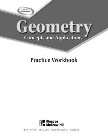 Glencoe mcgraw hill geometry workbook answers chapter 7