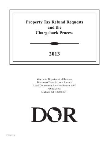 Wisconsin Property Tax Paid