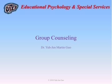 Educational Psychology & Special Services - Faculty.utep.edu