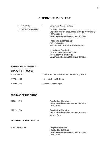 Descargue el curriculum completo en pdf - UPCH