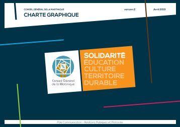 CHARTE GRAPHIQUE - Le Conseil Général de la Martinique