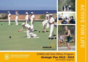 STARCLUB Field Officer Strategic Plan 2012-2015 - Office for ...