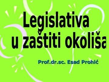 Legislativa u zaštiti okoliša