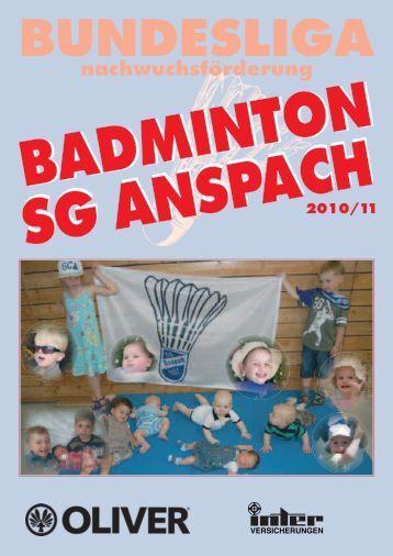 """Unsere """"Erste"""" - 2. Bundesliga - Badminton"""