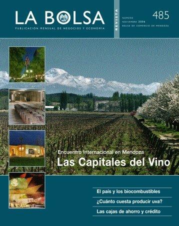 Noviembre 06 - Bolsa de Comercio de Mendoza