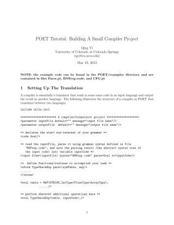 how to build a compiler in java