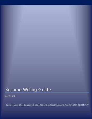 Aarp resume guide