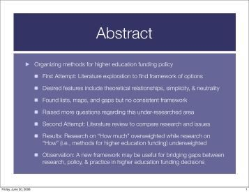Dissertation funding education