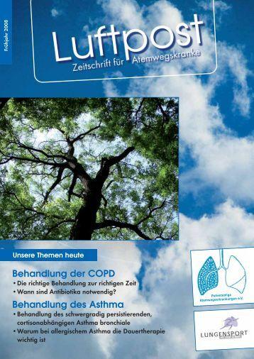 Behandlung der COPD Behandlung des Asthma - Patientenliga ...