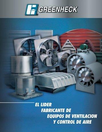 ventiladores y extractores - Greenheck