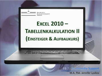 EXCEL 2010 –