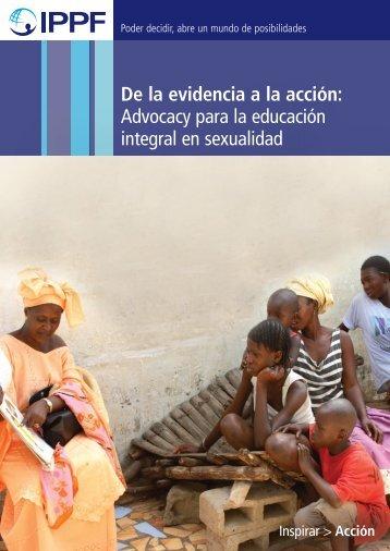 Advocacy para la educación integral en sexualidad - Maternidad sin ...