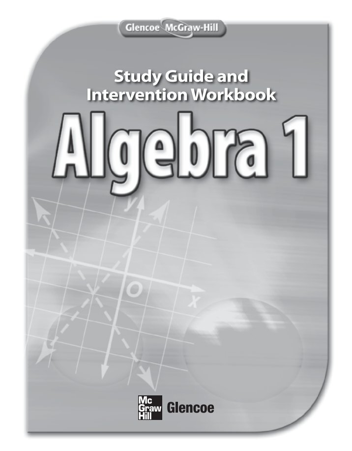 Glencoe mcgraw hill algebra 2 worksheet answers