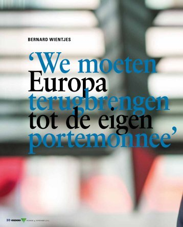 Interview Bernard Wientjes