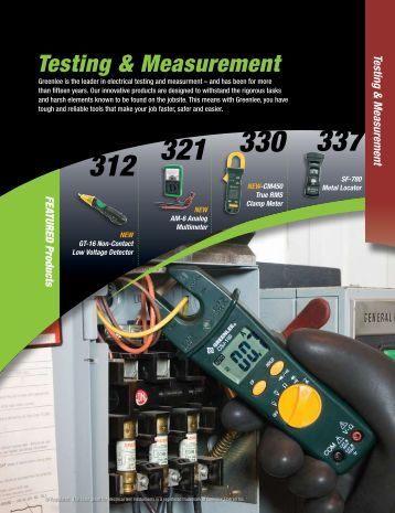 Testing & Measurement - Dixie Construction Products
