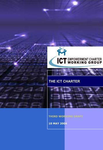 THE ICT CHARTER