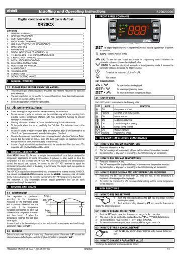 sprecher schuh cet 3 user manual