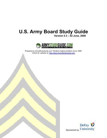 pcc pci army study guide - WordPress.com