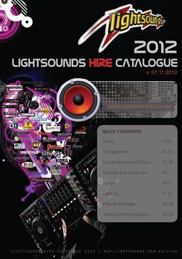 2012 - Lightsounds