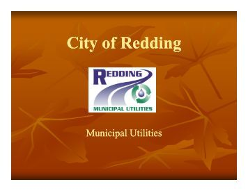 Redding Municipal Utilities - gotSWPPP?