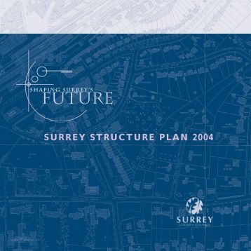 SURREY STRUCTURE PLAN 2004 - Surrey County Council
