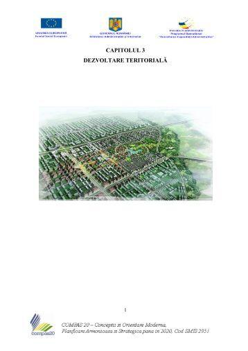 CAPITOLUL 3- Dezvoltare Teritoriala 1 - Consiliul Judeţean Satu Mare