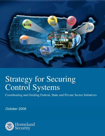 The Strategy For Securing Control Systems - SCADAhacker